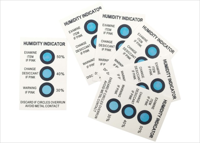 Cobalt Chloride Humidity Indicator Card