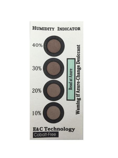10%-40% 4 Dots Cobalt-free Humidity Indicators