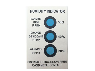 Humonitor Humidity Indicator Cards