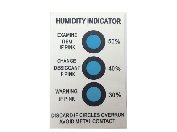 30%40%50% 3 Dots Humidity Indicator Strips