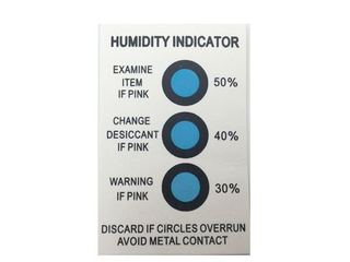 Customize Your Logo Humidity Indicator/ HIC Cards
