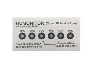 LED Six Points Cobalt free Humidity Indicator Card Strip