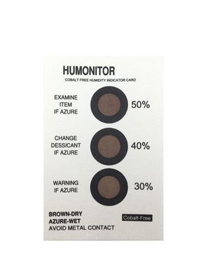 Customize Your Logo Humidity Indicator Sheet/HIC Cards
