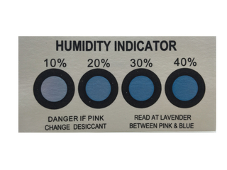 CAS No.64365-11-3 Humidity Indicator Card for PCB Vacuum Pack