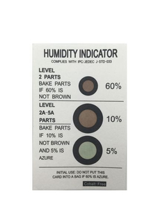 Humidity Tester Card