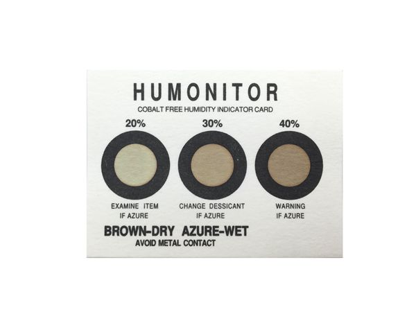 China 20% 30% 40% Cobalt-Free Humidity Indicator Card